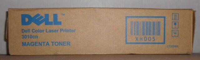 Original Dell XH005 Toner magenta für Dell 3010 CT200861  593-10157  OVP B