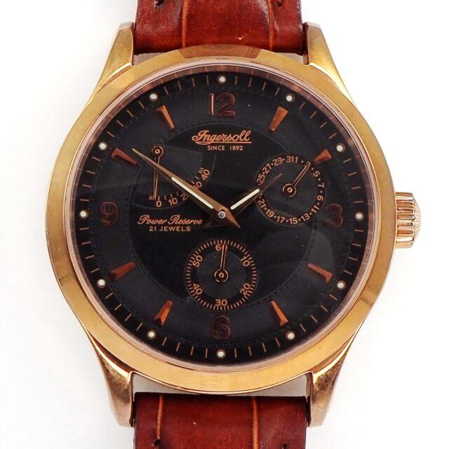 Ingersoll Doublé Herren Automatik Armbanduhr aus den 1990er Jahren