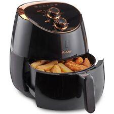VonShef Air Fryer Low Fat Health Fryer Cooker Oil Free Frying Black Chip Fry 5L