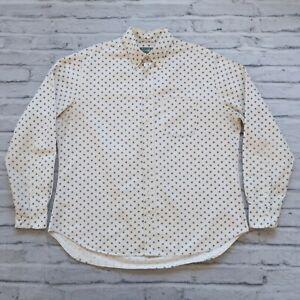 Gitman-Bros-Vintage-Stars-L-S-Shirt-Size-XL-Made-in-USA