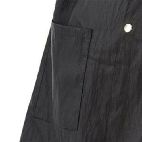 1Pc Long Sleeves Haircut Apron Uniform Overalls Barber Hairdresser Work Clothes