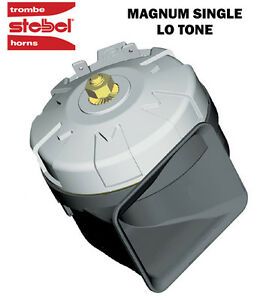 Details about STEBEL MAGNUM HIGH POWER SINGLE ELECTRIC HORN 12V 136dB! LOUD  MOTORCYCLE/CAR/4X4