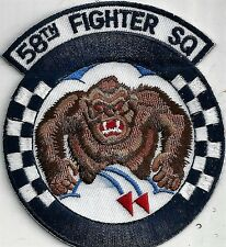 USAF 58TH FIGHTER SQ PATCH-                                     COLOR