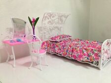 barbie size dollhouse furniture  sweet dream bed room play set