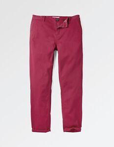 98 donna Cherry Twill Cotton Bnwt da Pantaloni Emsworth Fat Face xBFOSS