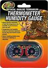 Zoo Med TH-27 Dual Analog Terrarium Thermometer/Humidity Gauge