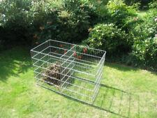 Komposter XXL Heptagon 7 Teile 1.400 - 2.400 Liter zink für Laub Rasen Hochbeet