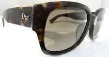 Christian Dior Flanelle F Dark Havana 086HA Sunglasses Glasses Authentic