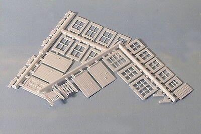 Scratch Builders Gates Doors Porch 00 Plastic Kit 1st P Windows Wills SS86