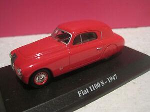 SUPERBE-FIAT-1100S-1947-STARLINE-SANS-BOITE-ech-1-43