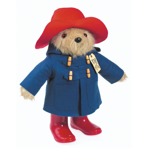LARGE TRADITIONAL 48 CM PADDINGTON BEAR GENUINE LICENSED
