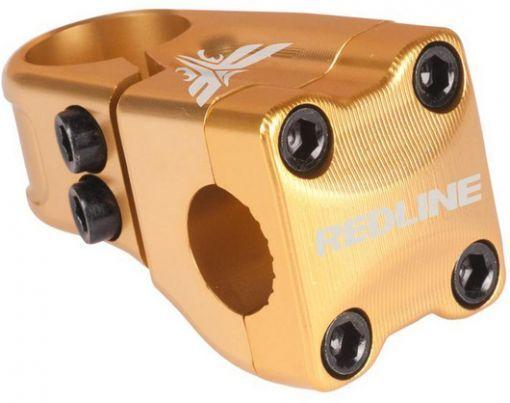 REDLINE FLIGHT STEM 1-1 8 50MM FRONT  LOAD ANNO gold  new exclusive high-end