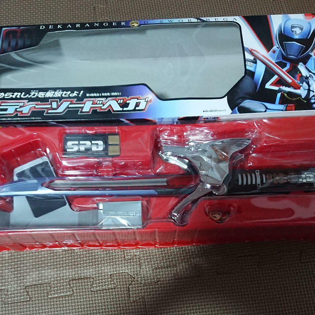 Tokusou Sentai Dekaranger de épée VEGA utilisé