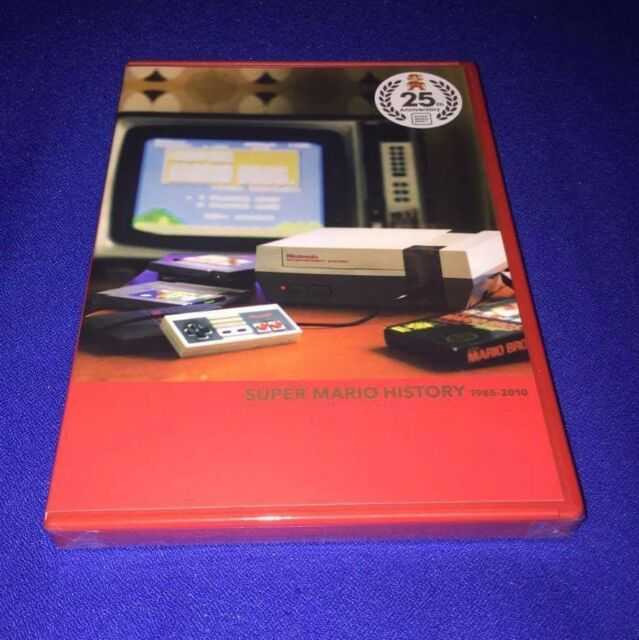 RARE NEW Super Mario All Stars Wii 25th Anniversary History Book + SoundTrack CD