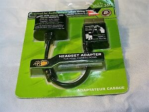 MadCatz-Headset-Adapter-for-HDMI-connections-For-X-Box-360-New-Unopened