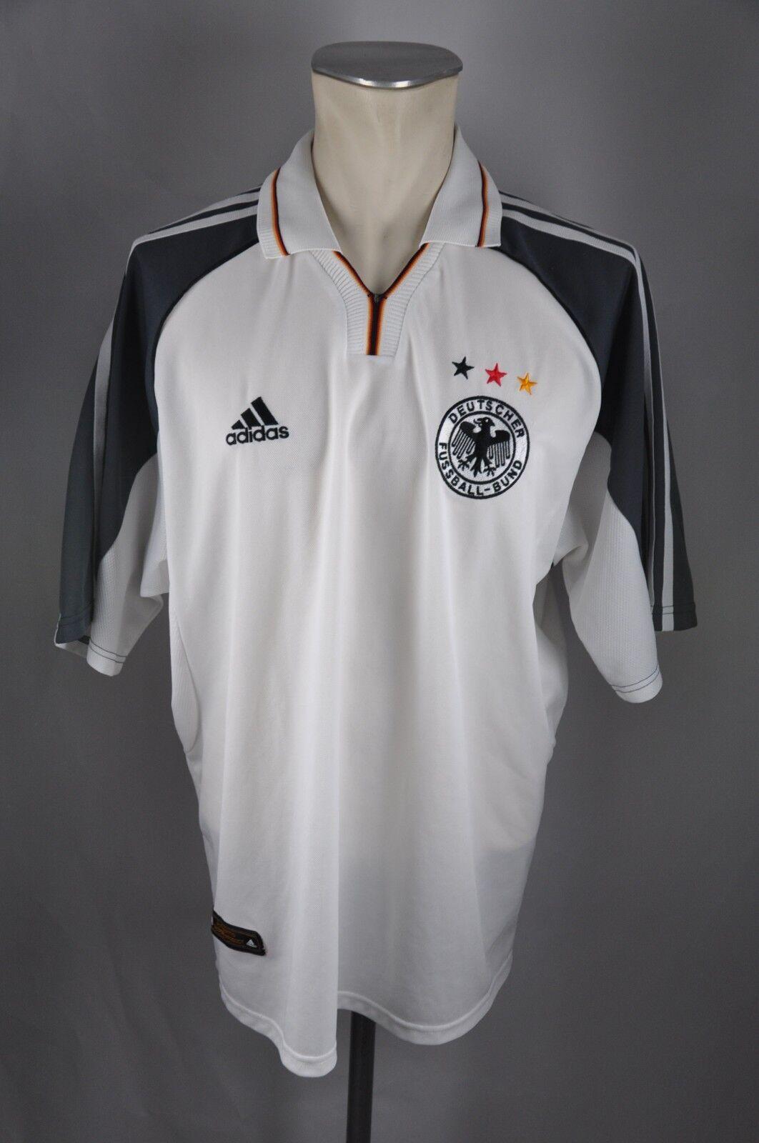 Deutschland Trikot 2000 Gr. XL Adidas Jersey DFB Germany WM EM Shirt