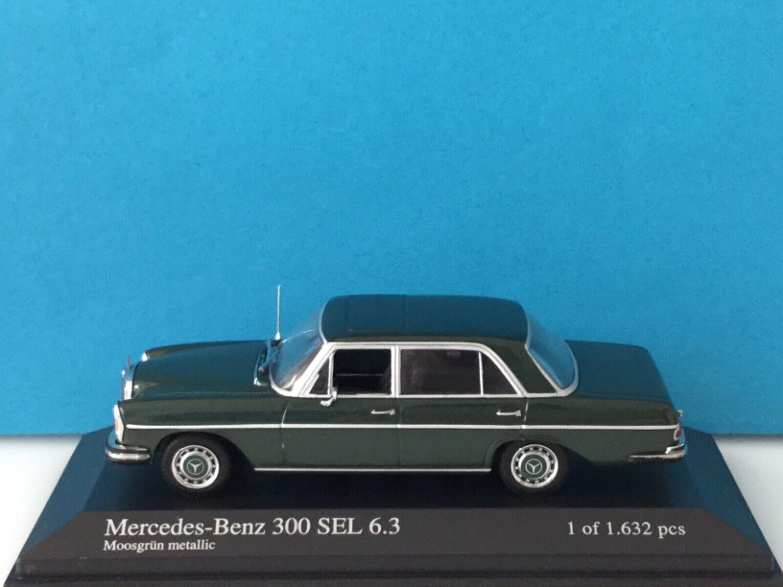 Minichamps 1 43 Mercedes-Benz E-Class Saloon 1993 blu nero met. Nr. 430 033500