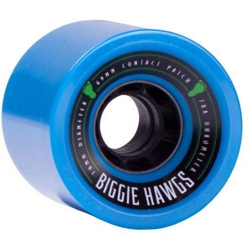 Landyachtz Biggie Hawgs Longboard Wheels 70mm - 78a bluee (Set of 4)