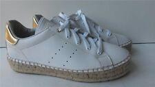 Buffalo Damen Plateau Sneakers Lederoptik weiß 37 Neu SHOE 39_00 H13802