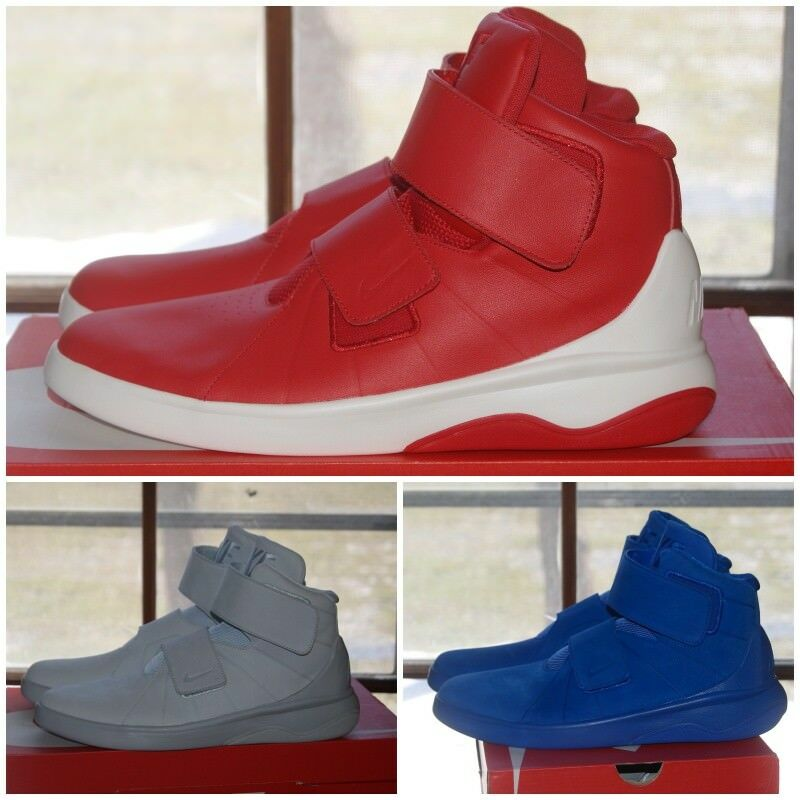 Mens Nike Marxman Premium Red Gray Blue 9.5 or 10 or 10.5 or 11 or 11.5 or 12 New shoes for men and women, limited time discount