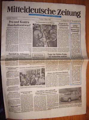 Mitteldeutsche-zeitung 8.3.1991 Bitterfeld