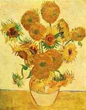 A4 Photo Van Gogh Vincent 1853 1890 French Painting 1931 Sunflowers Print Poster
