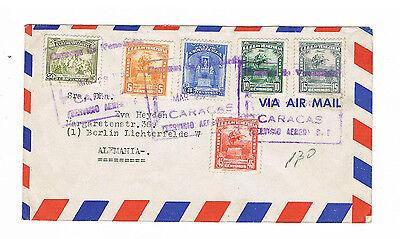 Venezuela Sauberer Lupo Brief Aus Caracas 1951 Husten Heilen Und Auswurf Erleichtern Und Heiserkeit Lindern Lots & Sammlungen Briefe & Kartenposten