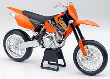RARE VINTAGE NEW RAY 2006 KTM 490 SMR ITEM # 42417 SUPERMOTO 1:12 SCALE