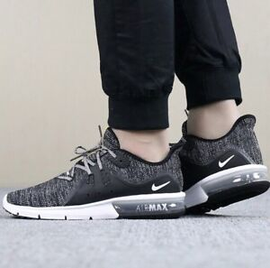 another chance d8cd8 c4c04 Nike Air Max Sequent 3 Black/ White-dark Grey 921694 011 Sz US 13 ...