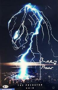 BRIAN-A-PRINCE-THE-PREDATOR-SIGNED-11x17-METALLIC-PHOTO-BECKETT-BAS-COA-208