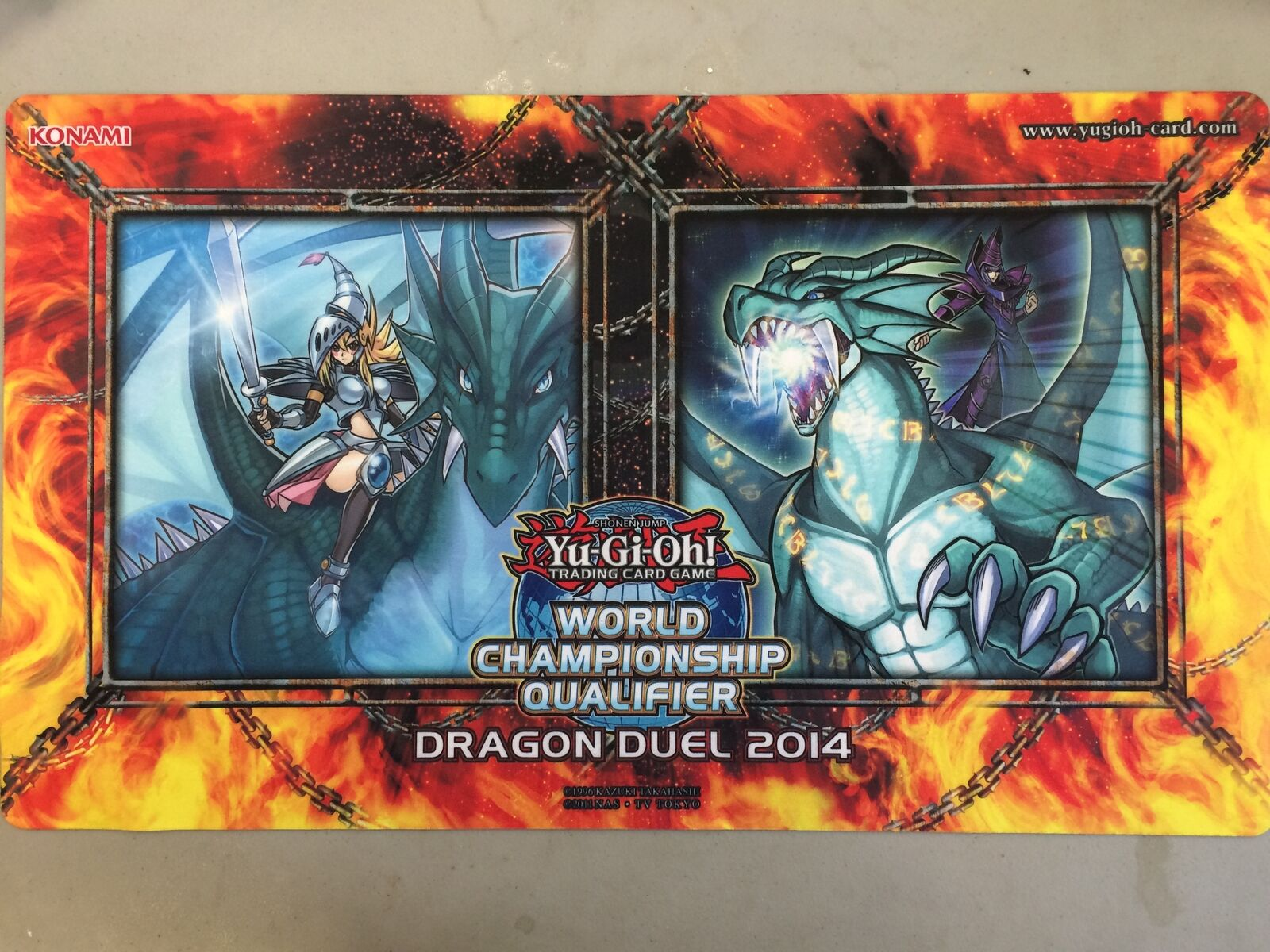 Yugioh World Championship Qualifier Dragon Duel 2014 Amulet Dragon Dark Magician