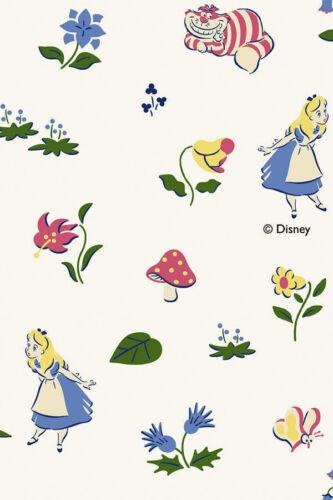 Cottonvill Pre Cut DTP Cotton Art Fabric Disney Alice/&Cheshire Cat 1069906/_NK