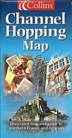 Channel Hopping Map, Map & Guide To Northern France & Belgium, By Collins