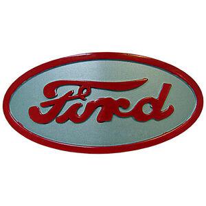 NEW-Metal-Hood-Emblem-Ornament-Badge-Licensed-Ford-8n-8-N-Tractor-8N16600A