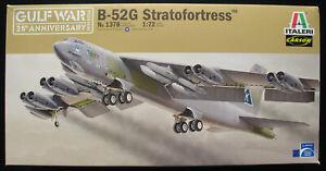 ITALERI-1378-GULF-WAR-Boeing-B-52G-Stratofortress-1-72-Flugzeug-Bausatz-Kit