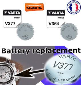Pile 377 364 V377 V364 Varta piles bouton SR66 SR60