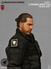 1/6 Action Figure Toy MSE ZERT Urban Sniper Jack Head Sculpt & Neck Joint XP4-33