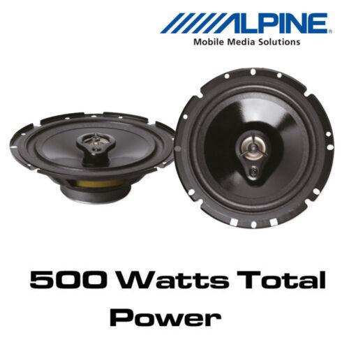 "6.5/"" 16.5cm 3-Way Coaxial Speakers Fiat Panda 2003/> Alpine SXV-1735E"