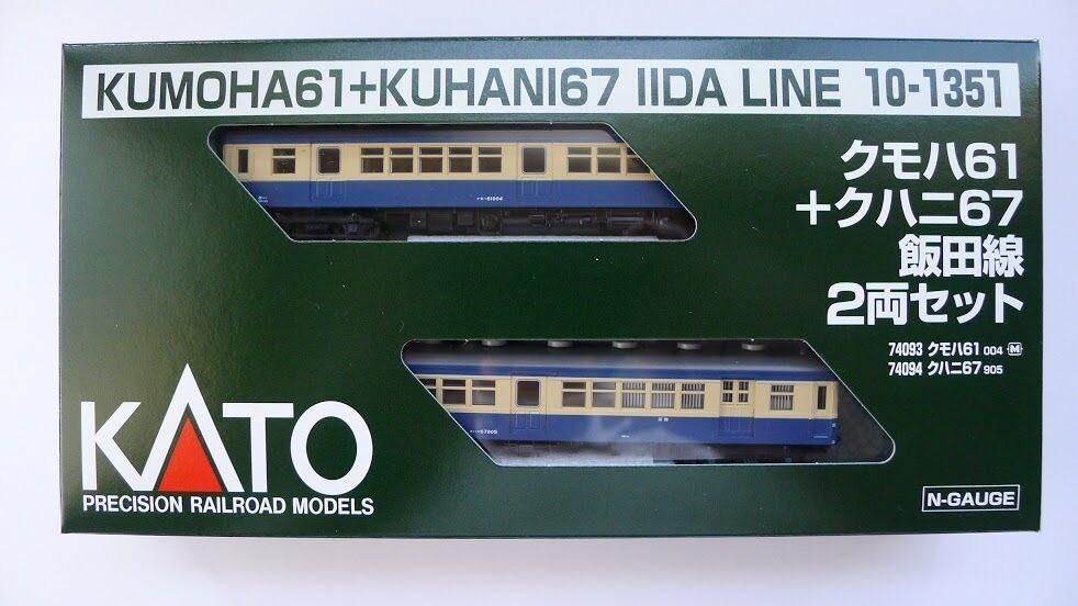 Kato N Scala 101351 kumoha 61  kuhani 67 iida linea 2 AUTO