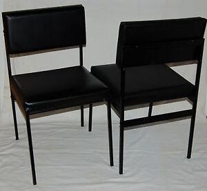 En 1970 Scandinave 2 Circa Style ArtAntiquités Chaises Skaï nk8wO0P