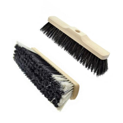 30//35//40 Cm FILETTATO GINESTRA sweep Brush HEAD REPLACEMENT SOFT NATURALE A PENNELLO DA BARBA
