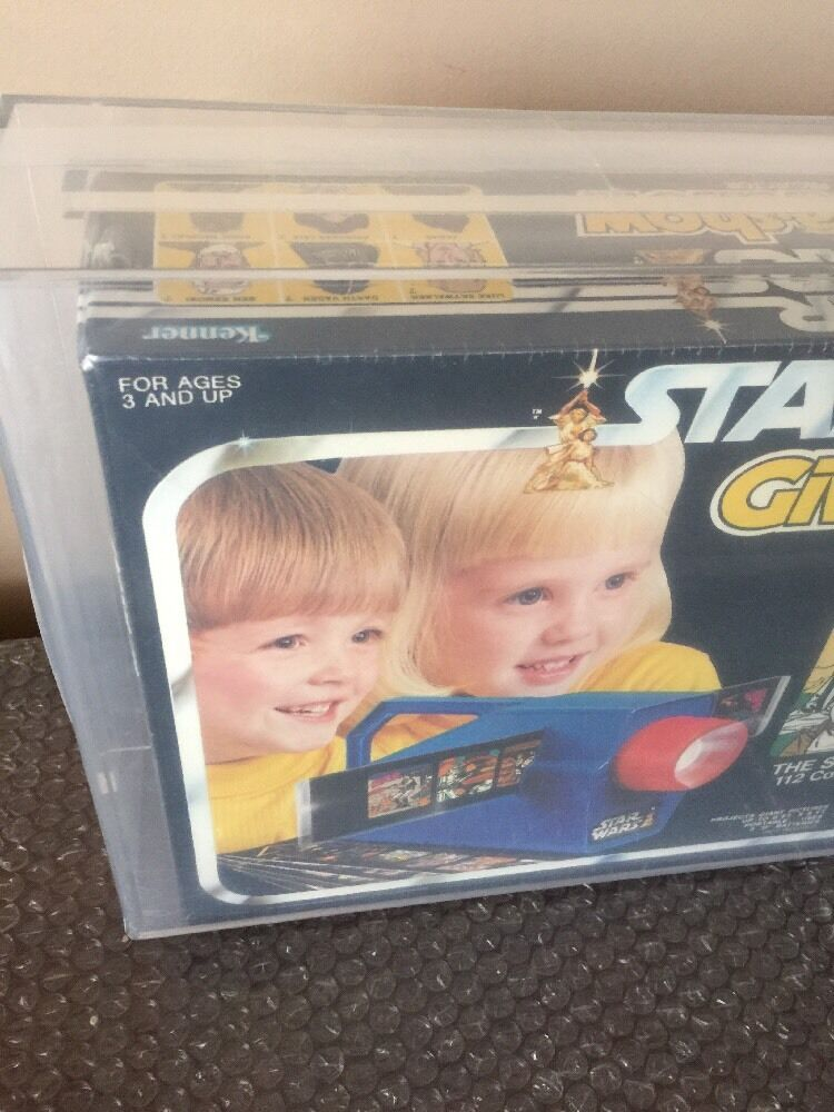 1979 KENNER stella guerre GIVE A mostrare PROJECTOR PROJECTOR PROJECTOR CASE FRESH STUNNING AFA 80 WOW guarda  a2e16c