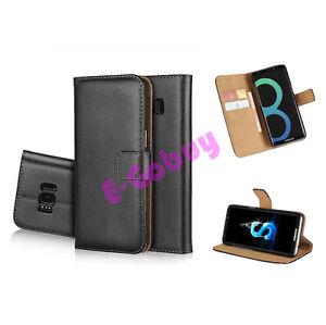 De-Luxe-en-Veritable-Cuir-Flip-Case-Portefeuille-Etui-Stand-pour-HTC-Portable