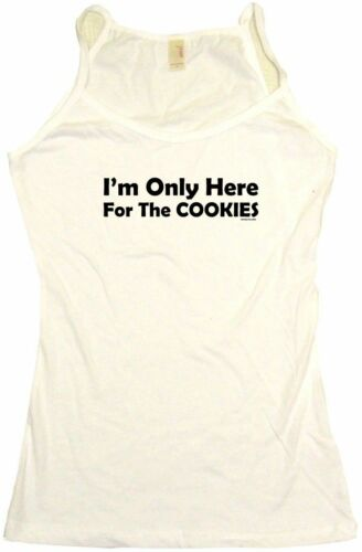 I/'m Only Here for the Cookies Womens Tee Shirt Pick Size Color Petite Regular