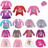 New official Girls My Little Pony Disney Long tee t shirt top vest tunic dress