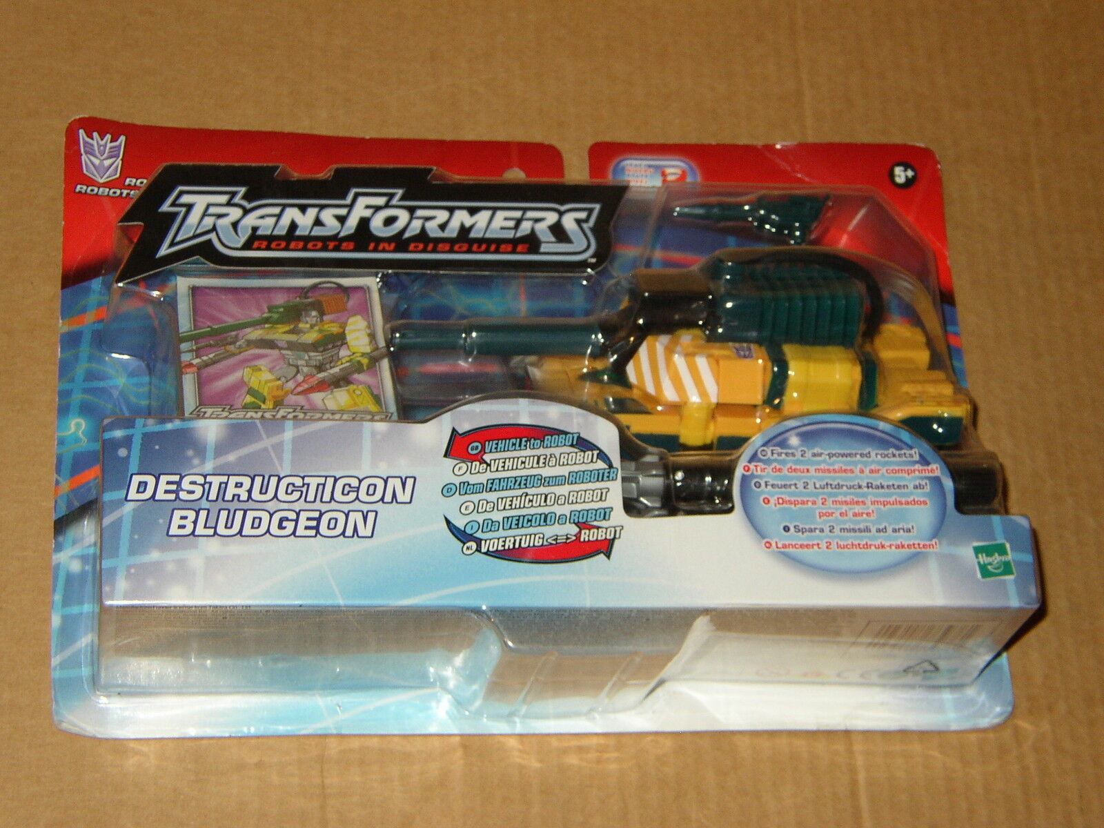 blueDGEON Robots in Disguise MOSC RiD Transformers