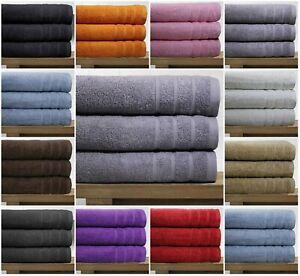 Real-egipcio-peinado-3-paquete-de-toallas-de-bano-550-GSM-Tamano-Extra-Grande-Toalla-de-Bano
