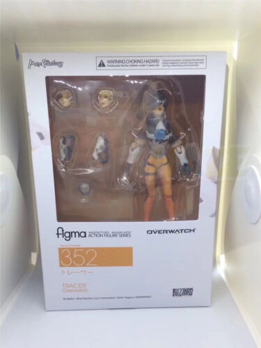 Overwatch Tracer Figma 352 Action PVC Figure OW Model Toys