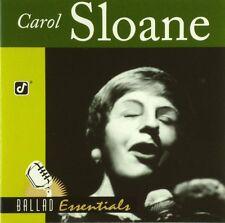 CD - Carol Sloane - Ballad Essentials - #A3645