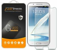 3x Samsung Galaxy Note 2 / N7100 Tempered Glass Screen Protector Saver